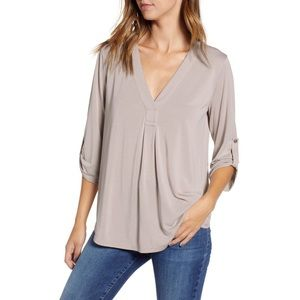 Lush Ashes of Rose Henley
